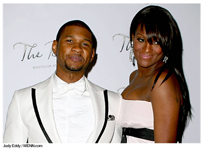 Usher0611 jpgUsher Kids And Wife