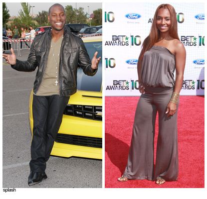 Exclusive: Tyrese Hooks Up With Chilli